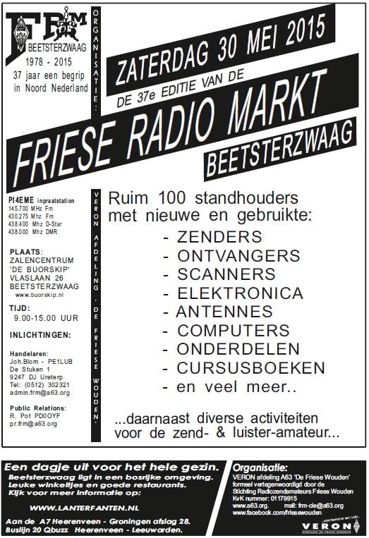 Affiche-37e-Friese-Radio-Markt 2015