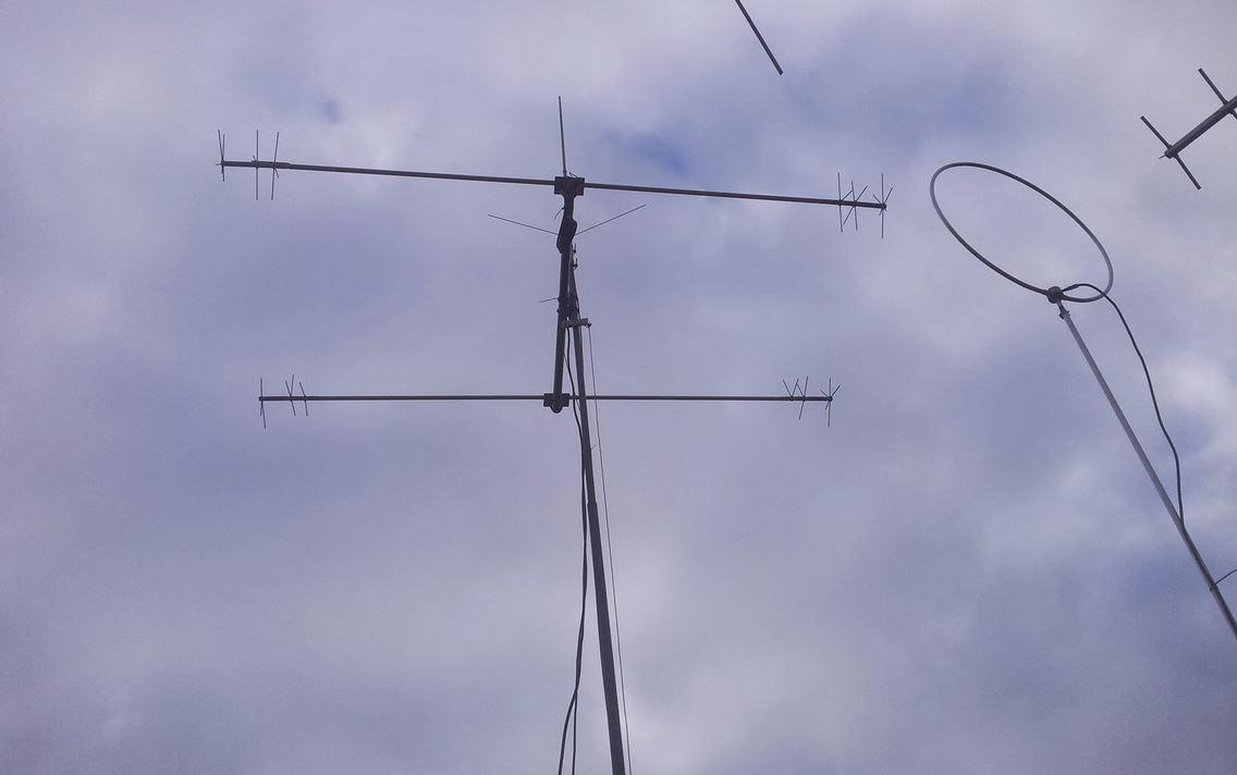 Antennes van de Radio Zendamateur